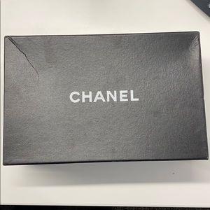 Chanel box with garment bag